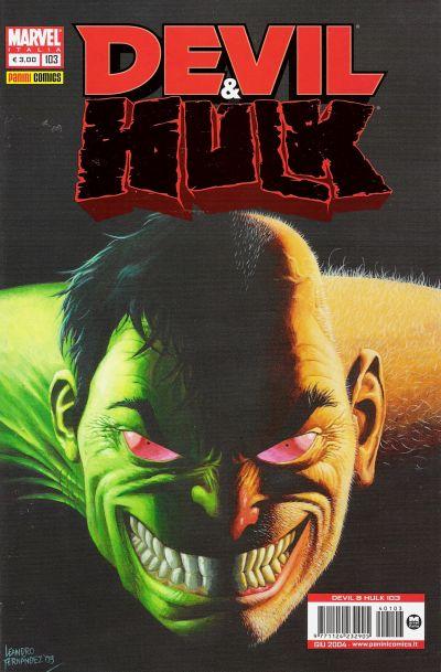 Cover for Devil & Hulk (Marvel Italia, 1994 series) #103