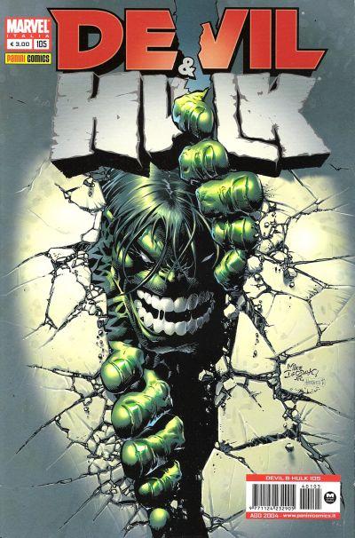 Cover for Devil & Hulk (Marvel Italia, 1994 series) #105