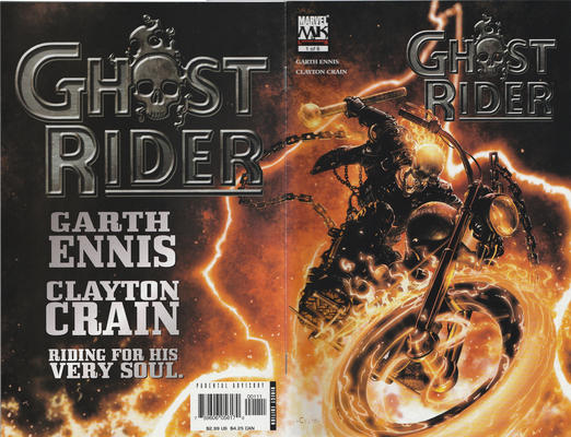 Cover for Ghost Rider (Marvel, 2005 series) #1 [Retailer Edition]