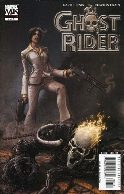 Cover for Ghost Rider (Marvel, 2005 series) #4