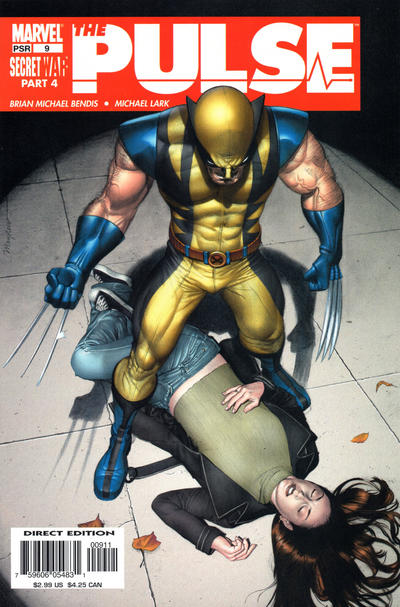 Cover for The Pulse (Marvel, 2004 series) #9