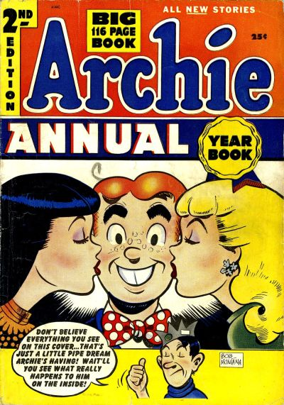 Cover for Archie Annual (Archie, 1950 series) #2