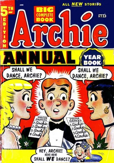 Cover for Archie Annual (Archie, 1950 series) #5