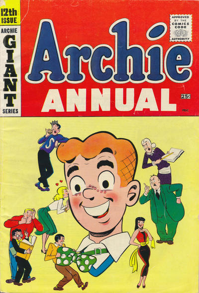 Cover for Archie Annual (Archie, 1950 series) #12