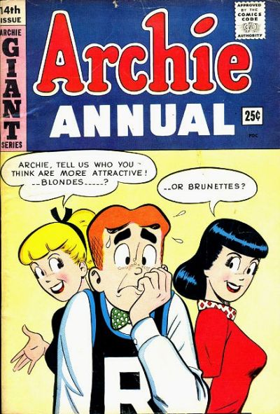 Cover for Archie Annual (Archie, 1950 series) #14