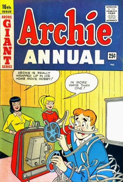 Cover for Archie Annual (Archie, 1950 series) #16