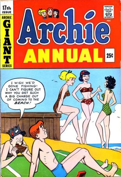 Cover for Archie Annual (Archie, 1950 series) #17