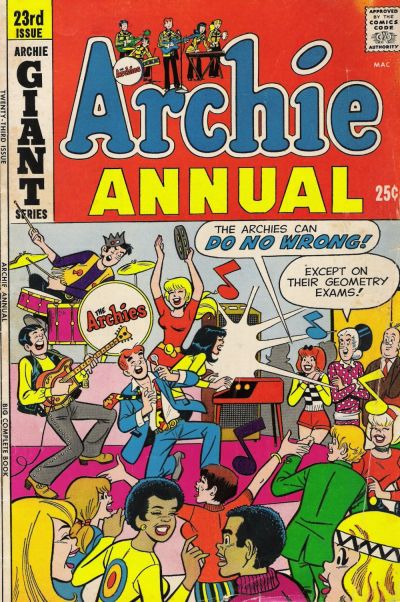 Cover for Archie Annual (Archie, 1950 series) #23