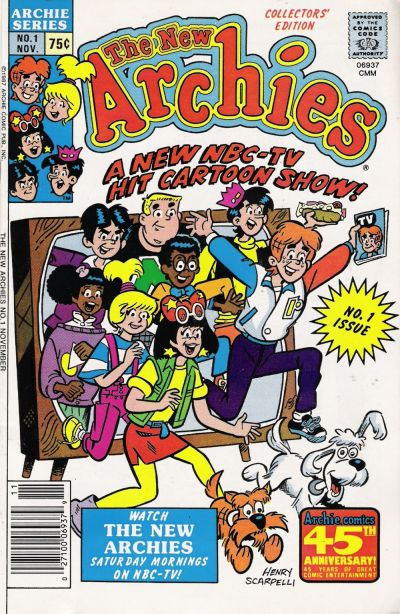 Cover for The New Archies (Archie, 1987 series) #1