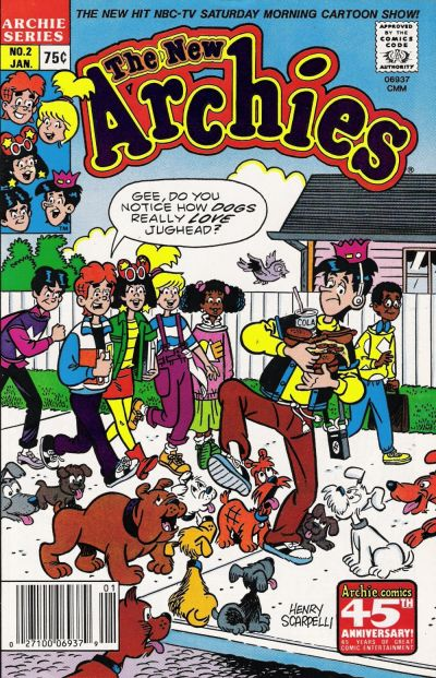 Cover for The New Archies (Archie, 1987 series) #2