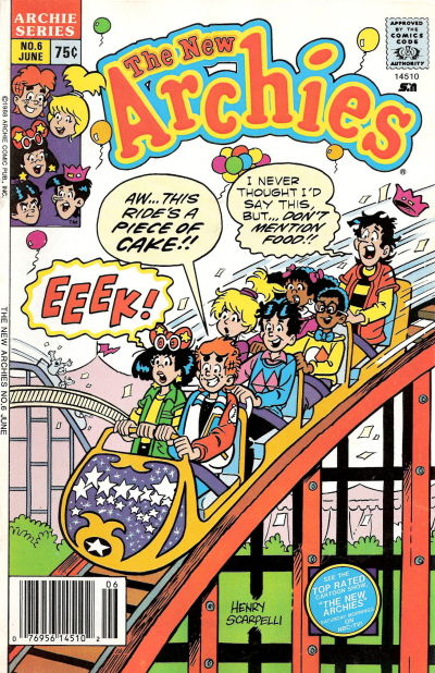 Cover for The New Archies (Archie, 1987 series) #6
