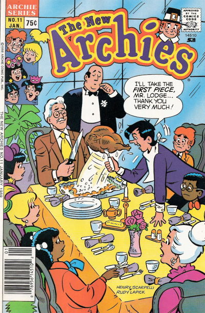 Cover for The New Archies (Archie, 1987 series) #11