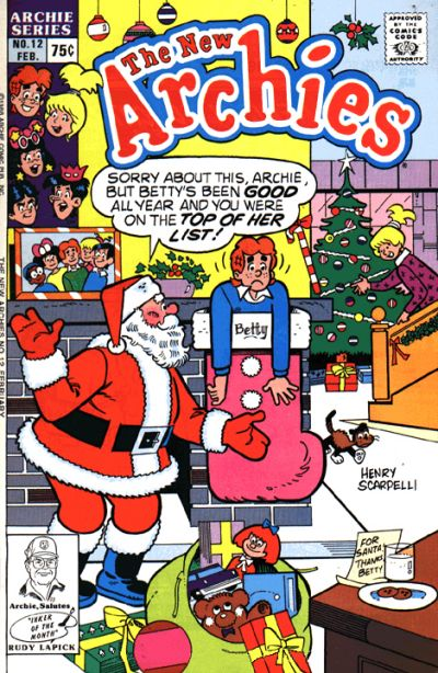 Cover for The New Archies (Archie, 1987 series) #12 [Direct]