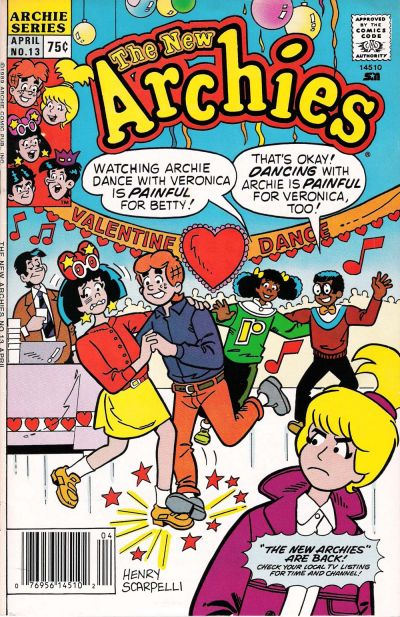 Cover for The New Archies (Archie, 1987 series) #13