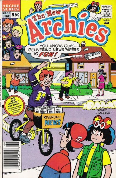 Cover for The New Archies (Archie, 1987 series) #15