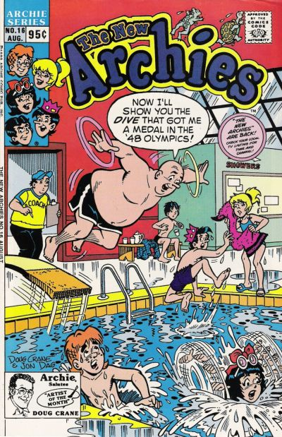 Cover for The New Archies (Archie, 1987 series) #16