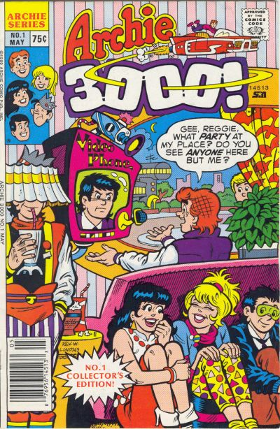 Cover for Archie 3000 (Archie, 1989 series) #1
