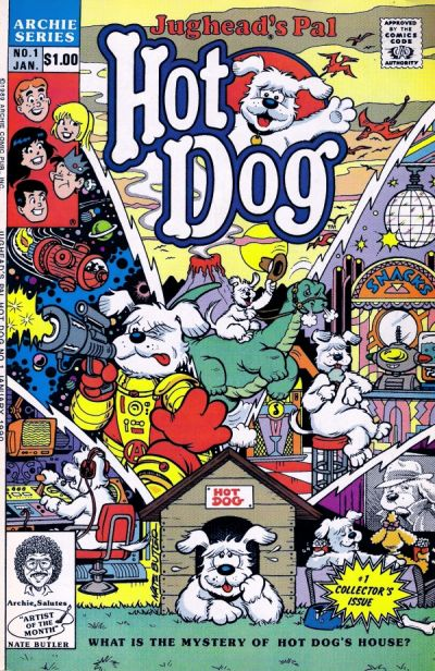 Cover for Jughead's Pal Hot Dog (Archie, 1990 series) #1 [Direct Edition]