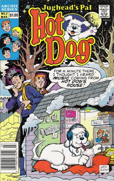 Cover for Jughead's Pal Hot Dog (Archie, 1990 series) #2