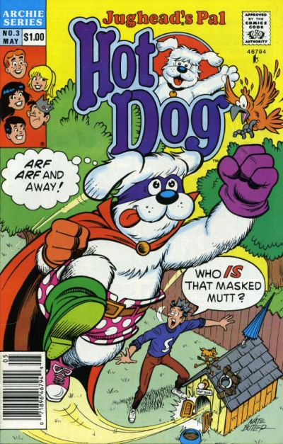 Cover for Jughead's Pal Hot Dog (Archie, 1990 series) #3