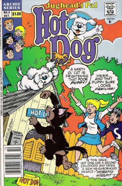 Cover for Jughead's Pal Hot Dog (Archie, 1990 series) #5