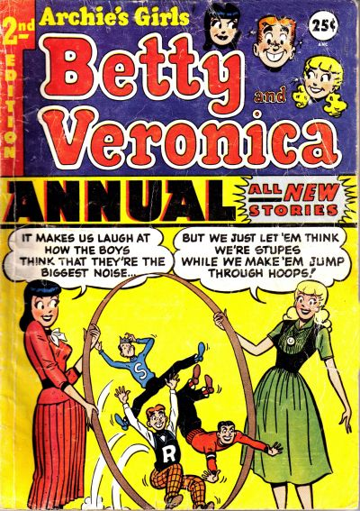 Cover for Archie's Girls, Betty and Veronica Annual (Archie, 1953 series) #2