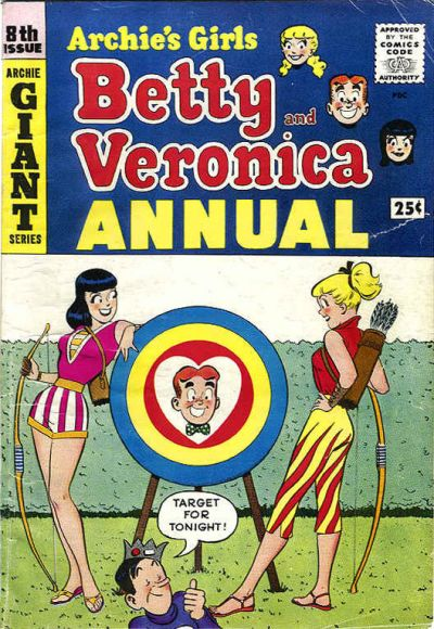Cover for Archie's Girls, Betty and Veronica Annual (Archie, 1953 series) #8