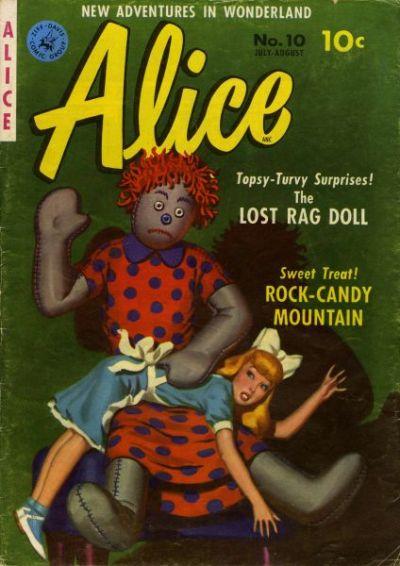 Cover for Alice (Ziff-Davis, 1951 series) #10