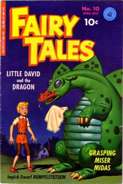 Cover for Fairy Tales (Ziff-Davis, 1951 series) #10