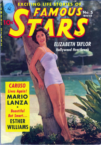 Cover for Famous Stars (Ziff-Davis, 1950 series) #5