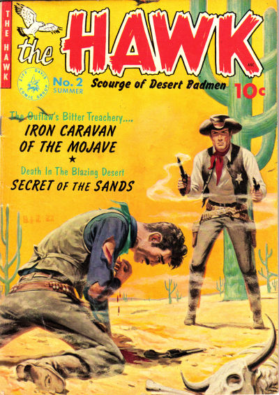 Cover for The Hawk (Ziff-Davis, 1951 series) #2