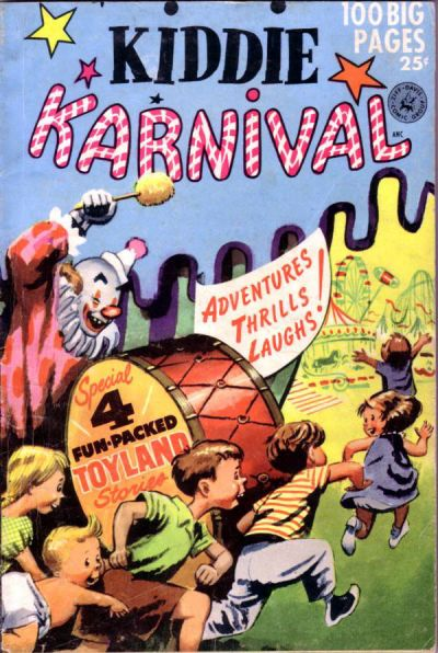 Cover for Kiddie Karnival (Ziff-Davis, 1952 series)