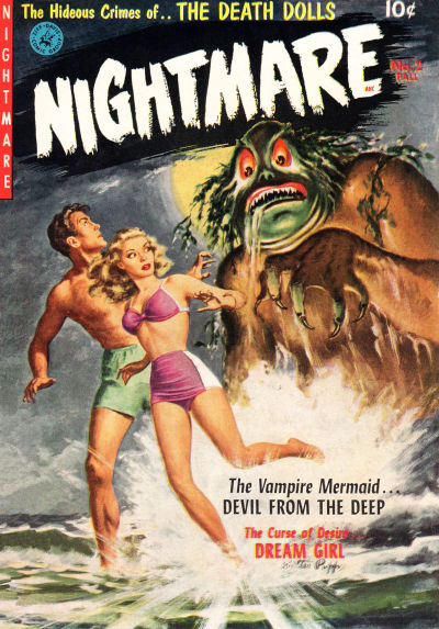 Cover for Nightmare (Ziff-Davis, 1952 series) #2