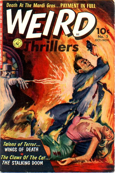 Cover for Weird Thrillers (Ziff-Davis, 1951 series) #5