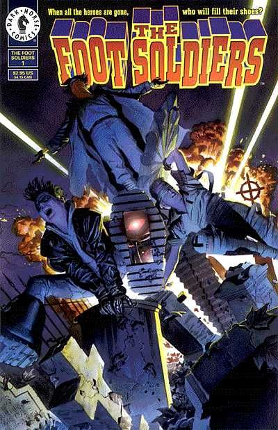 Cover for The Foot Soldiers (Dark Horse, 1996 series) #1
