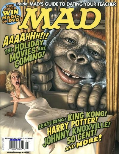 Cover for MAD (EC, 1952 series) #459