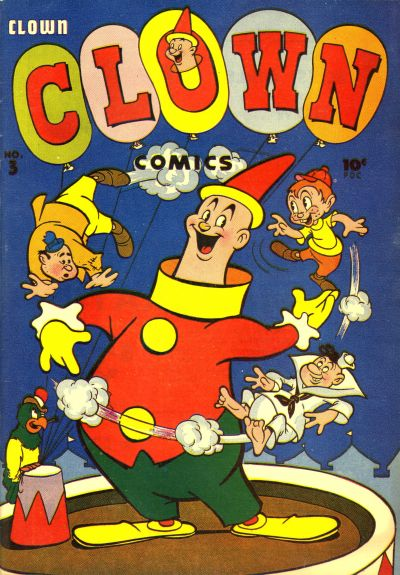 Cover for Clown Comics (Harvey, 1946 series) #3