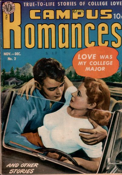 Cover for Campus Romance (Avon, 1949 series) #2