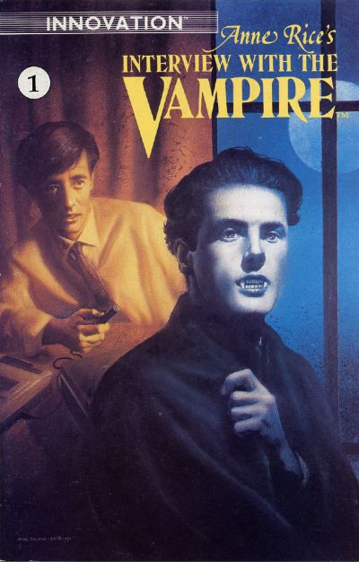 Cover for Anne Rice's Interview with the Vampire (Innovation, 1991 series) #1