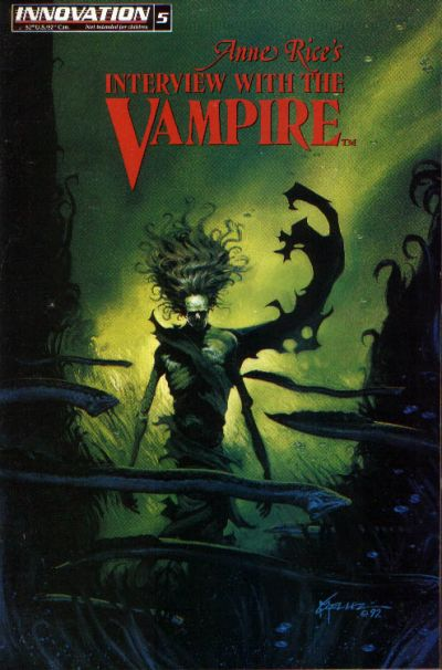 Cover for Anne Rice's Interview with the Vampire (Innovation, 1991 series) #5