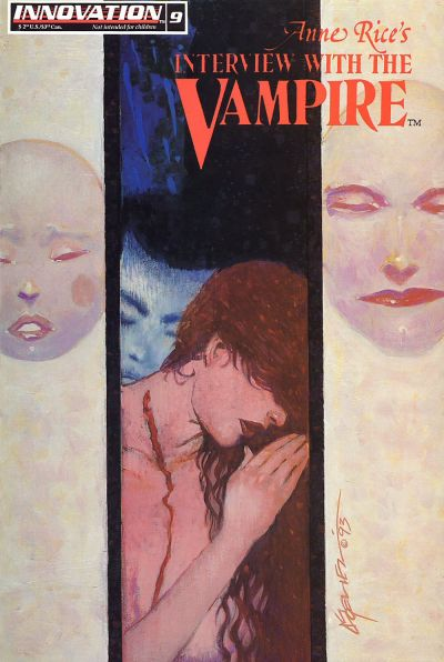 Cover for Anne Rice's Interview with the Vampire (Innovation, 1991 series) #9