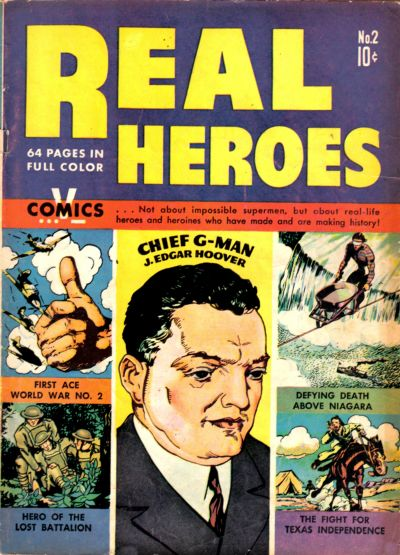 Cover for Real Heroes (Parents' Magazine Press, 1941 series) #2