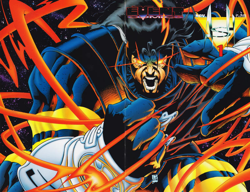 Cover for Ash (Event Comics, 1994 series) #1