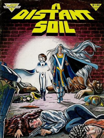Cover for A Distant Soil (WaRP Graphics, 1983 series) #1