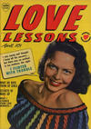 Cover for Love Lessons (Harvey, 1949 series) #4