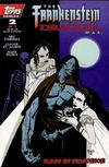Cover for The Frankenstein / Dracula War (Topps, 1995 series) #2