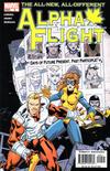 Cover for Alpha Flight (Marvel, 2004 series) #9