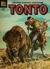 Cover for The Lone Ranger's Companion Tonto (Dell, 1951 series) #28