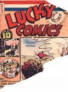 Cover for Lucky Comics (Maple Leaf Publishing, 1941 series) #v1#8