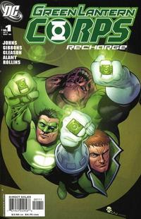 Cover Thumbnail for Green Lantern Corps: Recharge (DC, 2005 series) #1